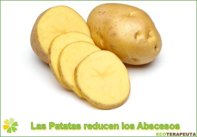 Patatas para los abscesos