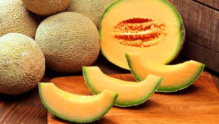 Beneficios para la salud del melón cantalupo