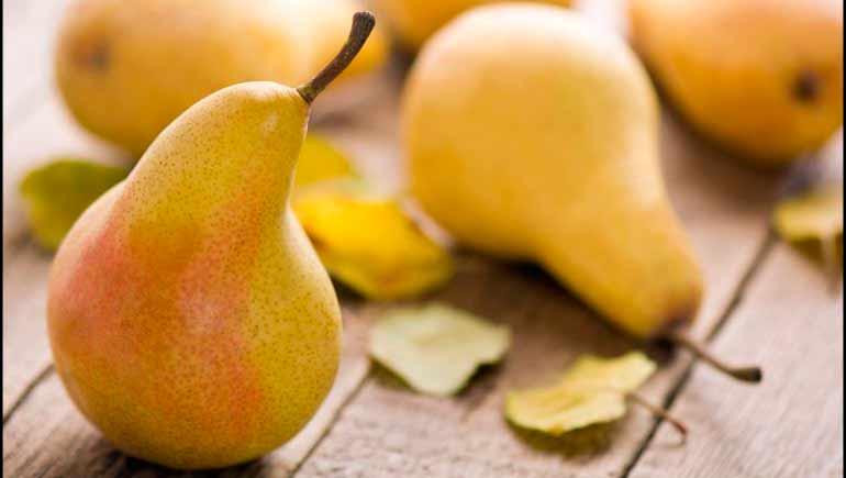 Posibles beneficios de las peras para la salud